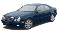 Mercedes-Benz CLK Coupe (C208)