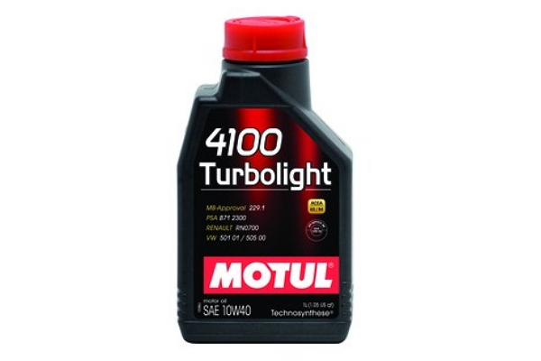 "108644 Масло моторное Turbolight 4100 10W-40 ""Motul"" 1л."