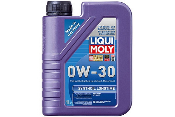 """1171 Масло моторное 0W-30 Synthoil Longtime """"Liqui Moly"""" 1л."""