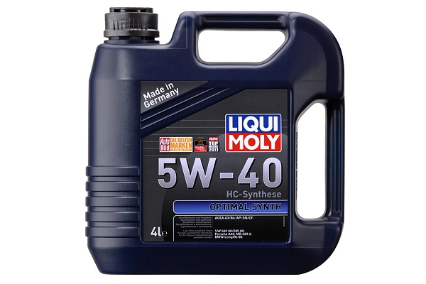 "3926 Масло моторное 5W-40 Optimal Synth ""Liqui Moly"" 4л."