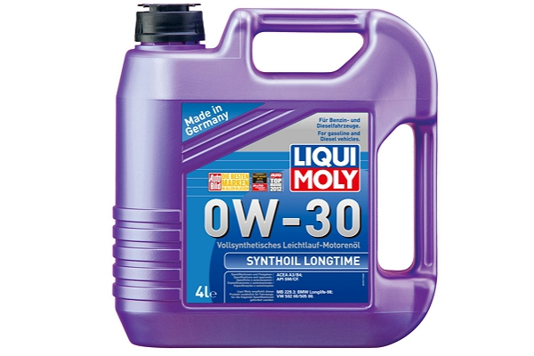 """7511 Масло моторное 0W-30 Synthoil Longtime """"Liqui Moly"""" 4л."""