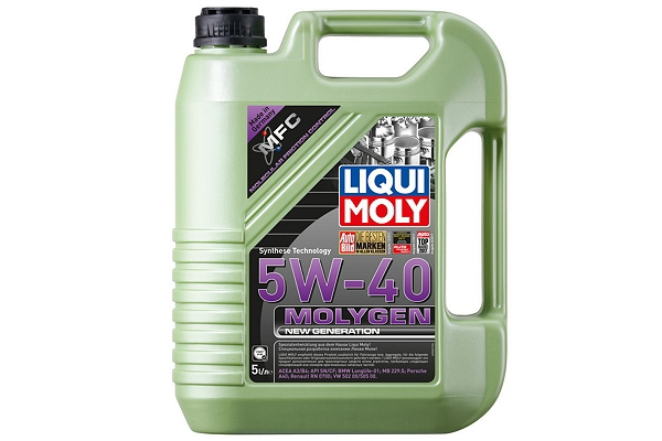 "9054 Масло моторное 5W-40 Molygen New Generation ""Liqui Moly"" 5л."